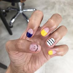 >>Discover more about gel nail designs. Click the link for more~~~~~~ The web presence is worth checking out. Cute Nail Art, Cute Nails, Pretty Nails, Hair And Nails, My Nails, Nails 2018, Nail Games, Gel Nail Designs, Perfect Nails