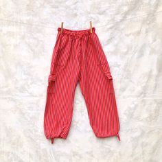 Vintage Guatemalan Pants Size Small Bohemian Hippie by Chicaluna, $32.00