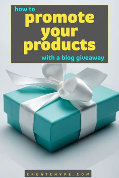 One of the easiest ways to get bloggers to promote your product by asking them to host a product giveaway or contest. Here's how to go about it.