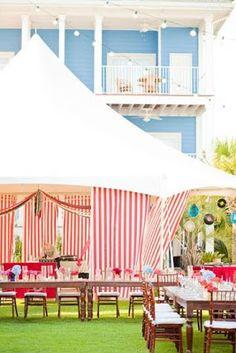 A Lowcountry Wedding - Charleston, Myrtle Beach & Hilton Head's Favorite Wedding Resource: Stripes {Wedding Decor}