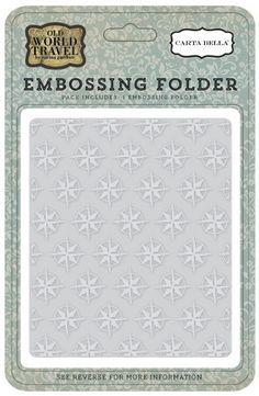 Darice Embossing-Prägeschablone Swirl 14,6x10,8cm