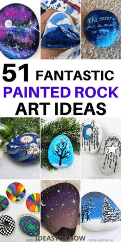 Rock Painting Patterns, Rock Painting Ideas Easy, Rock Painting Designs, Stone Crafts, Rock Crafts, Arts And Crafts, Paper Flowers Craft, Flower Crafts, Rock Art