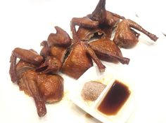 Only found in China. The fatty piegon but super crispy and made with soy sauce