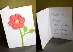 Make your own plantable greeting cards!!!