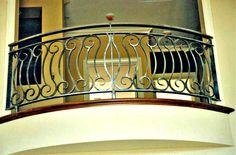 Tuscan Balcony Rail