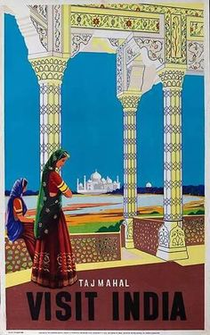 45x Vintage Travel Posters India | The Travel Tester