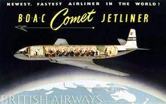BOAC de Havilland Comet Poster_British Airways.jpg