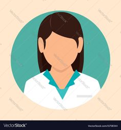 Female doctor design icon Vector Image by studiogstock