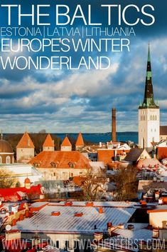 The Perfect Baltic Travel Itinerary: Explore Estonia, Latvia, & Lithuania Estonia Itinerary Croatia Travel, Thailand Travel, Italy Travel, Bangkok Thailand, Spain Travel, Travel Tips For Europe, Places To Travel, Europe Europe, Travel Destinations