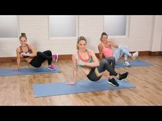 HIIT Workout to Burn Calories and Tone Your Abs| Class FitSugar - YouTube