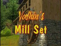 Custom Scenery Depot - Theme Park Games - Vodhins Mill Set