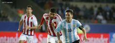 Argentina jamás a perdido con Paraguay