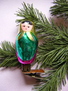 Glass Gnome Carrying Mushroom Ornaments Pretty sure Im gonna