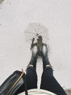 Rainy day walks.