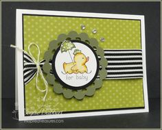 Easy Events duckling colored with Stampin' Up! markers. Thanks Connie!