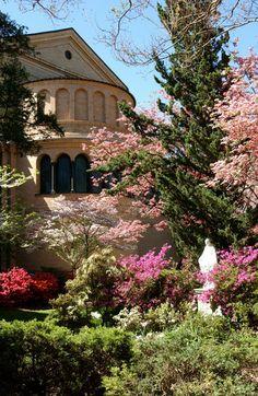 Franciscan Monastery Gardens: 1400 Quincy Street NE, Washington, District of Columbia, USA, DC 20017 See more - http://www.gardenvisit.com/garden/franciscan_monastery_gardens