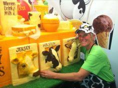 Feeding the cows :-)