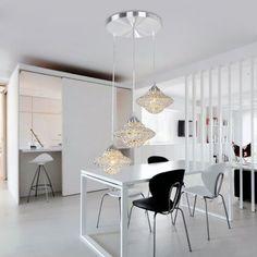 Creative Fashion Aluminum Dining Room Pendant Lamp Bedroom Pendant Lamp Kitchen Pendant Lamp
