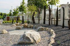 Celtic Stone Carving and Bog Oak. Garden Design, by Tom Leavy_ Leavy Landscaping. Landscape Design, Garden Design, Ireland Landscape, Stone Carving, Garden Landscaping, Celtic, Past, Sidewalk, Construction