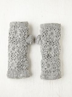 Inspiration picture. These are fleece lined and over forty dollars at Anthropologie. I'd like to find a similar pattern and make my own with a matching headband.