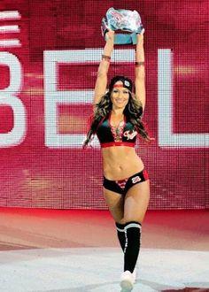 NIKKI BELLA, WWE's Diva Champion