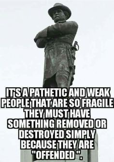 Nazi's took down statues that offended them. Dems ate taking down Civil War statues because they are offended.FASCISM in America! Liberal Logic, Conservative Politics, God Bless America, We The People, That Way, It Hurts, How To Remove, Shit Happens, Thoughts