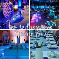 How to decorate an Erudite Party, Divergent Divergent Party, Divergent Trilogy, Divergent Insurgent Allegiant, Tris Tattoo, Tattoo Set, Party Themes, Theme Parties, Party Ideas, Tris And Four