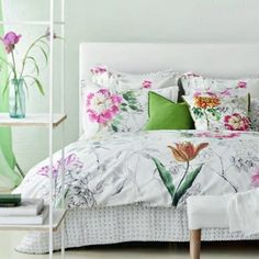 Sibylla Fuchsia Bedding by Designers Guild Linen Bedding, Bedding Sets, Designers Guild, California King, Bed Design, Luxury Bedding, Home Accessories, Vibrant Colors, Duvet Covers