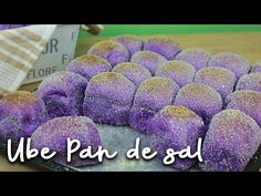Ube Pandesal (Filipino Bread Rolls) – Famous Last Words Pandesal Recipe Bread Machine, Cheese Pandesal Recipe, Bread Machine Recipes, Bread Recipes, Filipino Desserts, Filipino Recipes, Filipino Food, Filipino Dishes, Pinoy Food