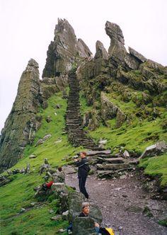 Skellig Michael Monastery (Island off the coast of Iveragh Peninsula, Ireland)