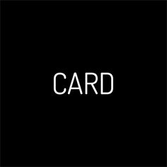 CARD I blaq