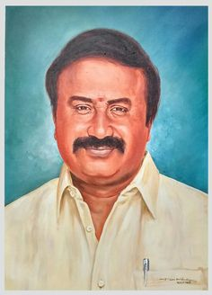 #Strocurve Latest Portrait painting work on canvas to my client... Medium: Acrylic on canvas, Size: 16 x 22 inches For more details contact us:9652579869
