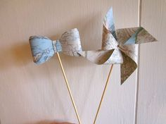 Hey, I found this really awesome Etsy listing at https://www.etsy.com/listing/163449233/photo-prop-map-bowties-and-pinwheels-set