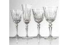 Seville Luxury French Crystal Glassware Collection by Cristallerie de Montbronn