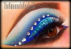 Maquillaje inspirado en Cenicienta. Tutorial.