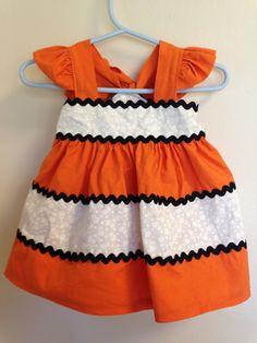 Finding Nemo Inspired Dress by MmmmSewGoodDesigns on Etsy