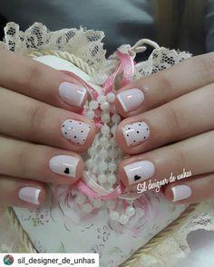 29 Imagini Fascinante Cu Unghii Cu Inimioare Pretty Nails Nail