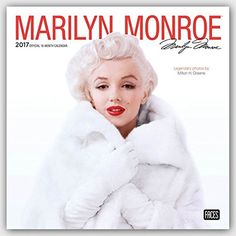 Marilyn Monroe 2017 Wall Calendar with photos by Milton Greene, by BrownTrout