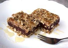 Nepečený čokoládový zákusok s ovsenými vločkami - recept