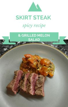 Michael Symon made a delicious Spicy Grilled Skirt Steak with Grilled Honeydew Salad recipe on The Chew. http://www.foodus.com/the-chew-grilled-skirt-steak-with-grilled-melon-salad-recipe/