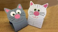 Paper Cat Craft Ideas Cute Diy Cat Crafts Source by discoveryhistory Shoes banner Cat Crafts, Food Crafts, Diy And Crafts, Arts And Crafts, Craft App, Bullet Journal Banner, Cute Easter Bunny, Easter Crafts For Kids, Cute Diys