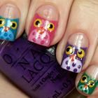 Fun and artistic nail design that's perfect for Halloween.