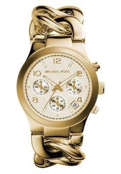 c74fd426f39 Michael Kors Runway Cronógrafo Gold Coloured Las Tendencias Y Relojes De  Mujer Las tendencias y relojes