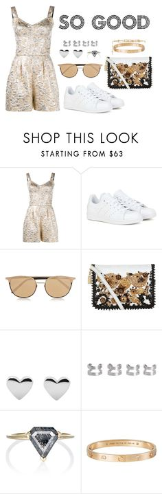 """So Good"" by anaelle2 ❤ liked on Polyvore featuring Dolce&Gabbana, adidas, Linda Farrow, Maison Margiela, Grace Lee Designs, Cartier and Givenchy"