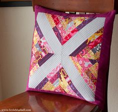 Pillow Talk Swap 7, Finished by Little Bluebell, via Flickr