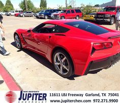 Thank You To Brad Segabarth On Your New 2014 Stingray From Dickie Combs And  Everyone At Jupiter Chevrolet!