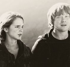 #Romione | Ron ♥ Hermione [gif]