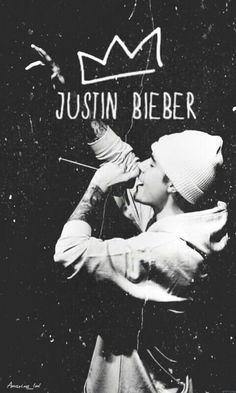 #Justin #Bieber #King #BlackAndWhite Fondo De Pantalla