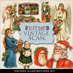 Vintage Xmas Illustrations