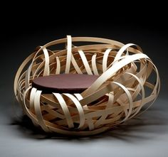 Nest Chair, création de la designer hollandaise Nina Bruun